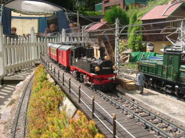 Loco Enters station